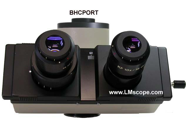 Olympus BH, BHS and BHT microscope with c-mount port BHCPORT