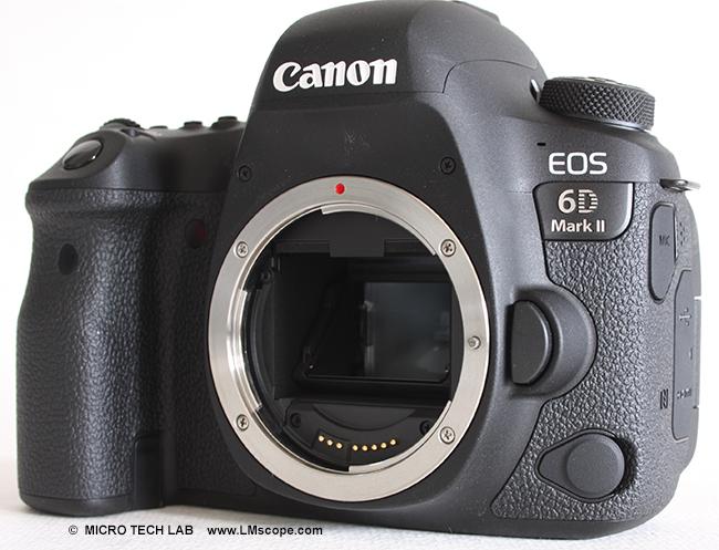 Leistungsfähige vollformatkamera mikroskopkamera canon eos 6d mark