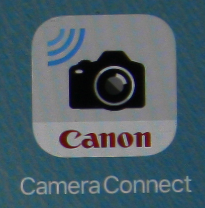 Canon Camera Connect app for microscopy use