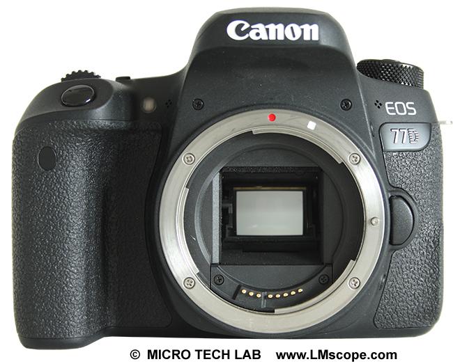 Flexible lm adapterlösungen für viele mikroskope mit der canon eos