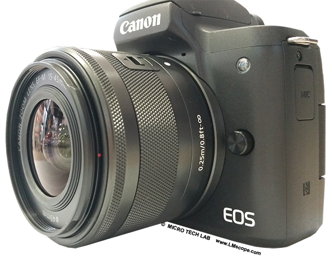 Test: Using the Canon EOS M50 on a microscope  Our LM
