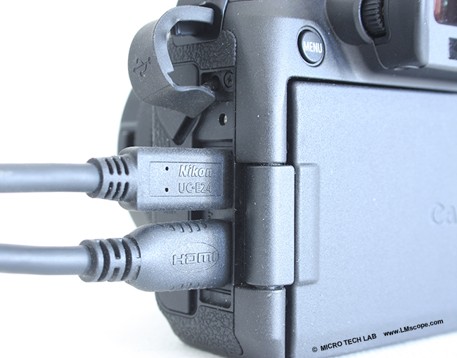 HDMI microscope camera