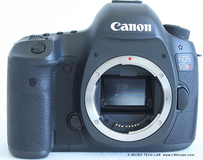 Canon EOS 5DS R Frontansicht