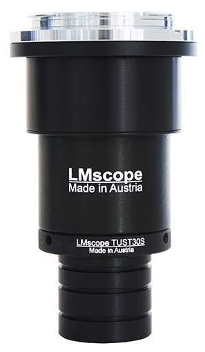 Adapter solution for microscope eyepiece