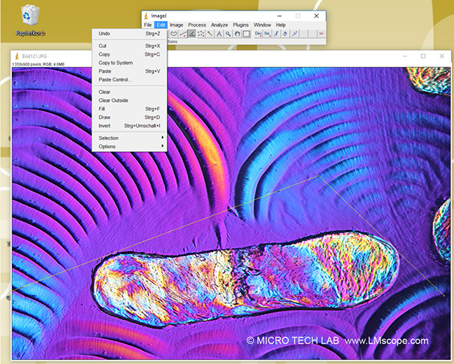 Edit ImageJ Gratissoftware