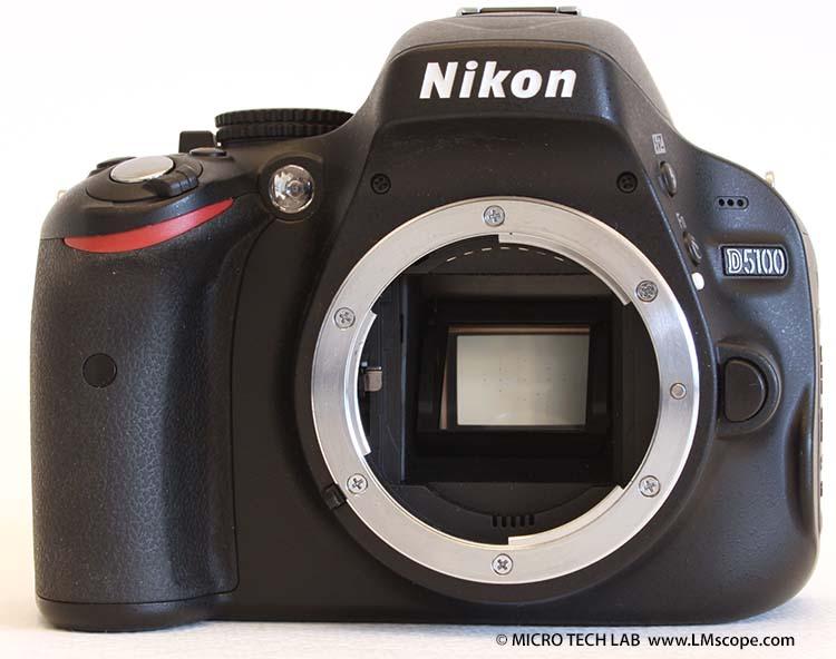 Nikon d am mikroskop