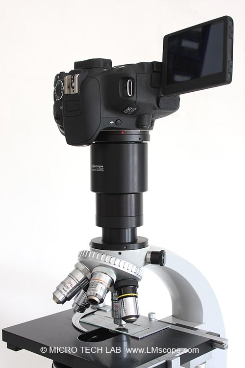 Zeiss Standard Microscope adapter solution lmscope camera