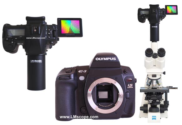 Olympus DSLR for microscopy use