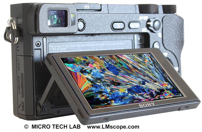 Mikroskopkamera sony alpha 6500 dslm liefert im test tolle