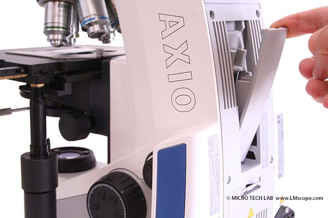 Zeiss Axio Lab.A1 support d'outils