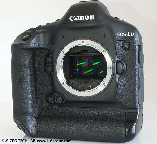 Canon EOS-1D X fullframe sensor camera for microscopy use