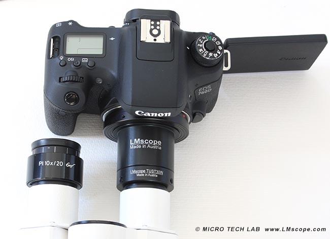 Kamera und fotomuseum kurt tauber edixa mikroskop adapter