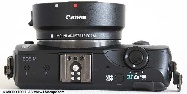 Canon eos M plus Mount Adapter EOS EF-M