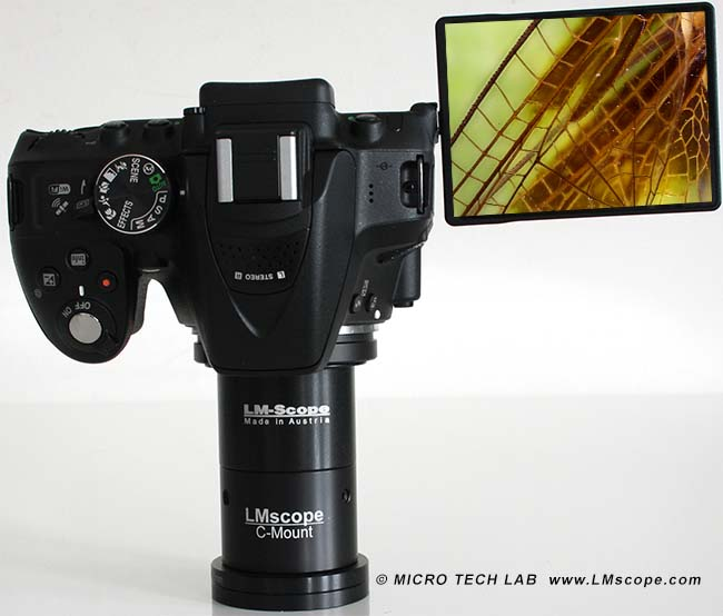 Nikon entry-level camera for microscopy problem analysis