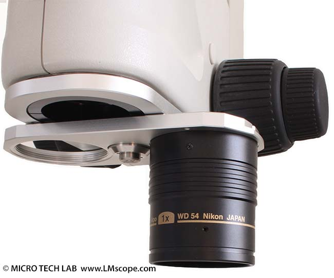 Mikrofotografie mit dem stereo zoom mikroskop smz1500