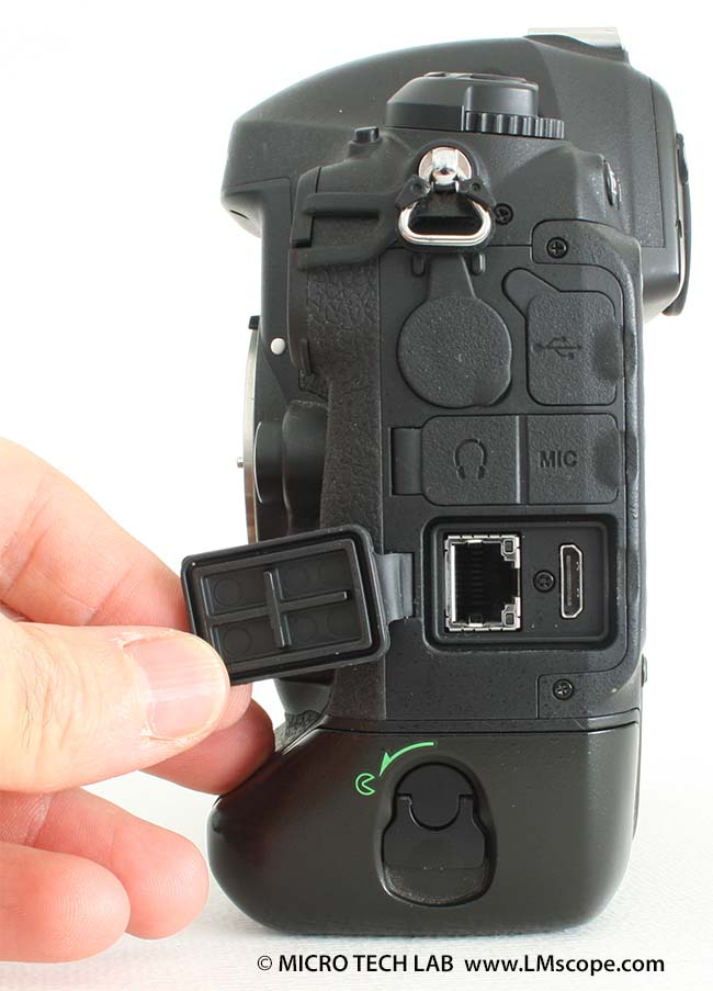 Nikon D4 HDMI connection