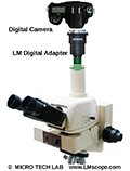 LM tube adapter: a convenient way to attach DSLR and DSLM cameras to Nikon's MM60 measuring microscope