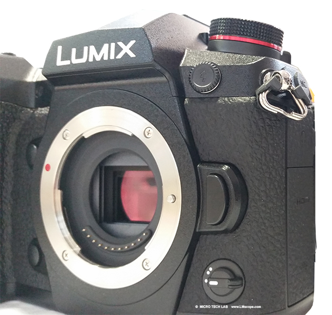 The Panasonic Lumix DC-G9 80 MP pro-grade camera and its performance in microscopy
