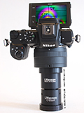 Finally – our LM microscope adapters can now be attached DIRECTLY to the current Nikon Z-mount system cameras