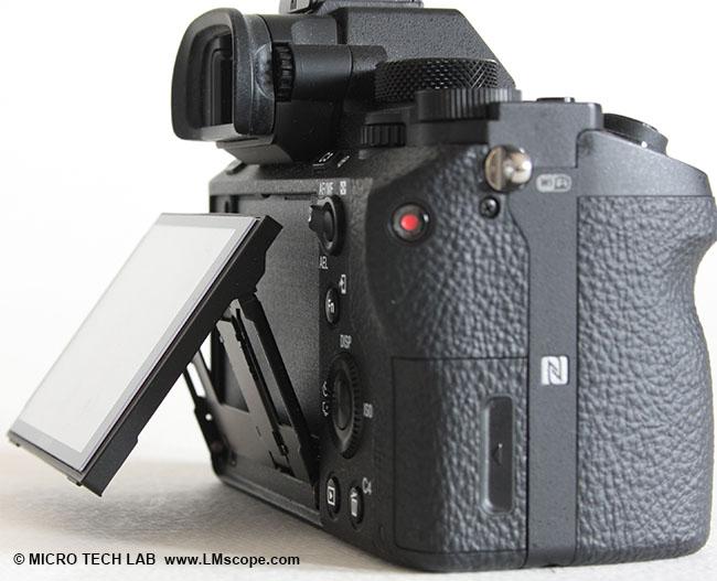 Sony alpha 7r ii eine spitzenklasse vollformat kamera am mikroskop