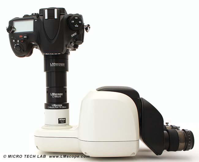 Fotografieren am mikroskop nikon smz18 smz25 smz800n und smz1270i